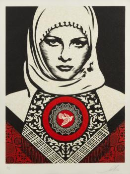 Shepard Fairey-Arab Woman-2012