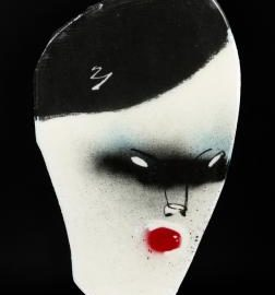 Anthony Lister-Mask-2011