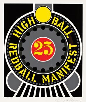 Robert Indiana-High Ball Red Ball-1996
