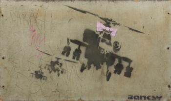 Banksy-Happy Choppers-2002