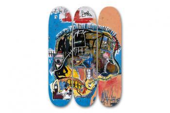 Jean-Michel Basquiat-After Jean-Michel Basquiat - Skull Skate Decks-2014