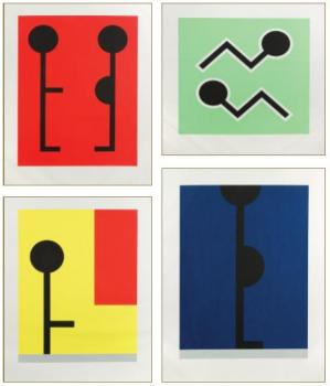 Bob Zoell-Suite Of Serigraphs-1980