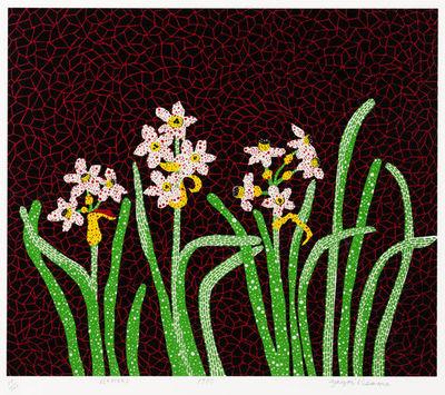 Yayoi Kusama-Flowers-1985