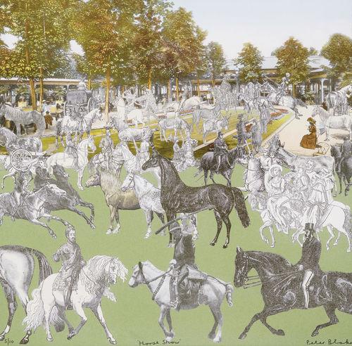 Peter Blake-Vichy - Horseshow-2011