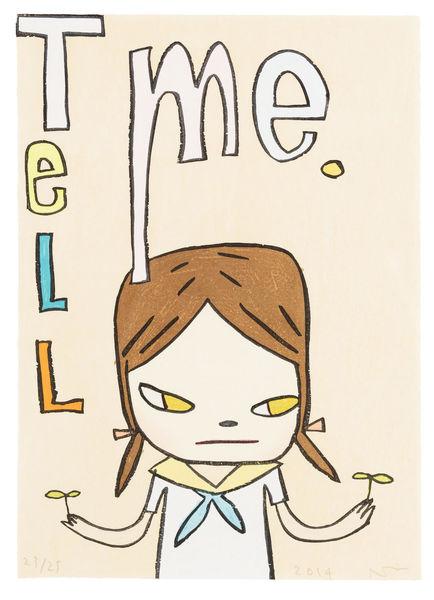 Yoshitomo Nara-Tell Me-2014