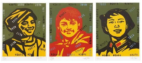 Wang Guangyi-The Belief-2006