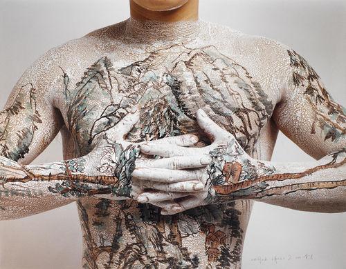 Huang Yan-Chinese Tattoo Landscape No. 2-1999