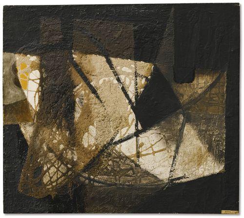Alberto Burri-Senza Titolo-1951