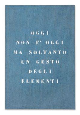 Vincenzo Agnetti-Paesaggio-1971