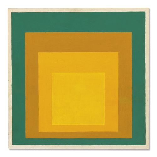 Josef Albers-Homage To The Square-1957