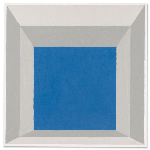 Josef Albers-Study For Homage To The Square:Framed Sky B-1969