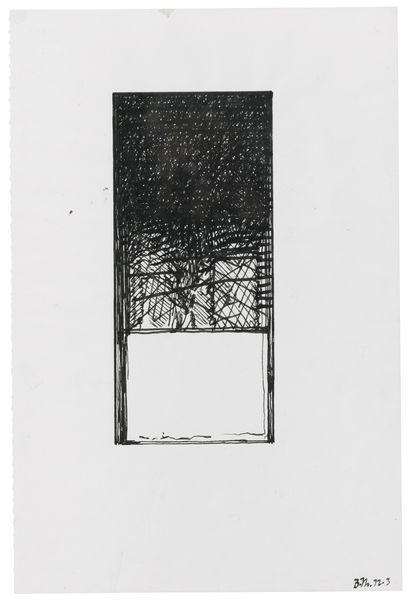 Brice Marden-Senza Titolo-1972