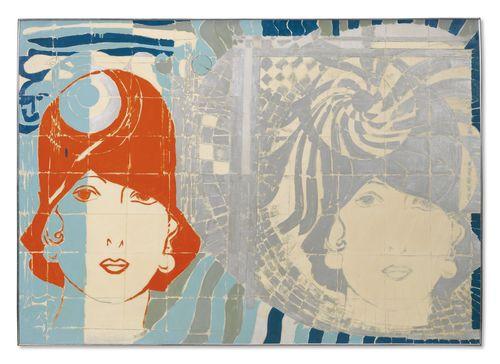 Giosetta Fioroni-Liberty Viennese-1966