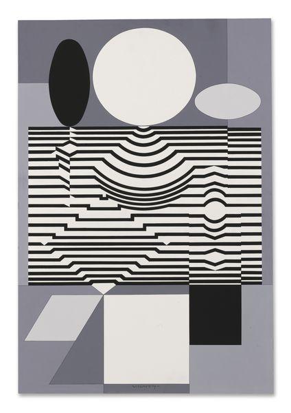 Victor Vasarely-Tampico-1972