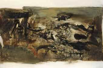 Zao Wou-Ki-14.12.71-1971