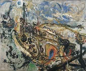 Affandi-Madurese Boats-1960