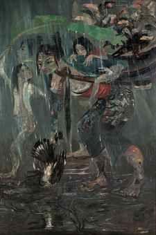 Hendra Gunawan-Shielding from the Rain-