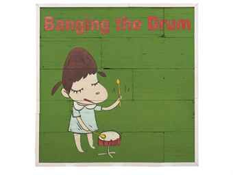 Yoshitomo Nara-Banging the Drum-2007