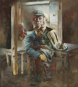Wang Jianwei-The Blind-1990