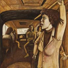 Song Yonghong-Riding in a Bus-1991