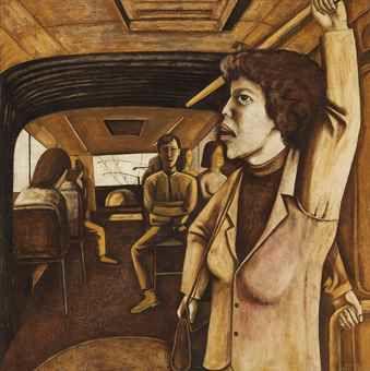 Song Yonghong-Riding in a Bus-1991