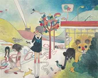 Aya Takano-Those Who Leave Paradise-2006