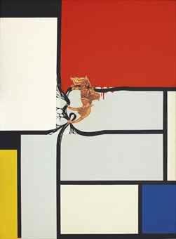 Jirapat Tatsanasomboon-Sucreep is Upset (Mondrian)-2006