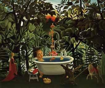 Mitsuru Watanabe-Naoko Bathing in the Woods of Rousseau-2015