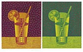 Yayoi Kusama-Lemon Squash (2); & Lemon Squash (3)-1999