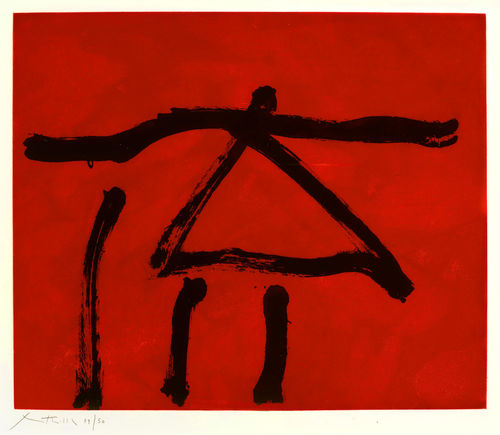Robert Motherwell-Dance III (Red)-1978