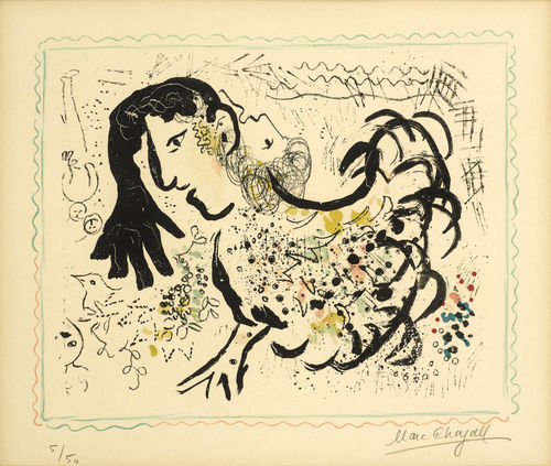Marc Chagall-Pastoral-1971