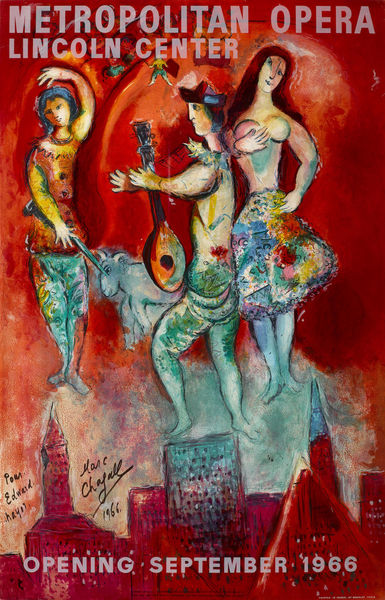Marc Chagall-After Marc Chagall - Carmen-1966