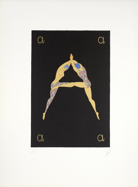 Erte-The Alphabet 26-1976