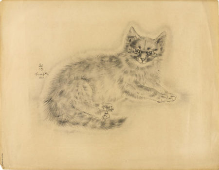 Tsuguharu Foujita-19 Plates, From A Book Of Cats (B. II.30.127)-1929