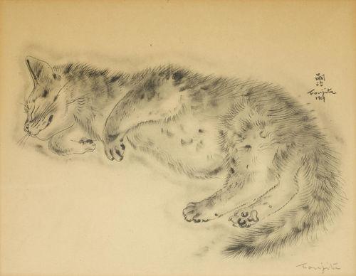 Tsuguharu Foujita-Aholiba, from Book of Cats-1929
