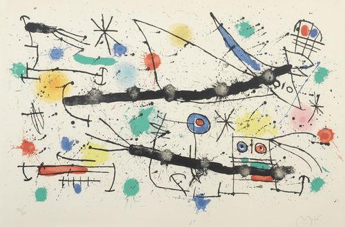 Joan Miro-The Large Garden-1964