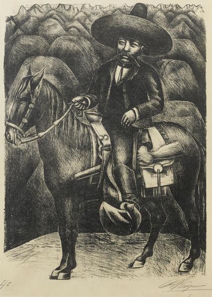 David Alfaro Siqueiros-Zapata-1930