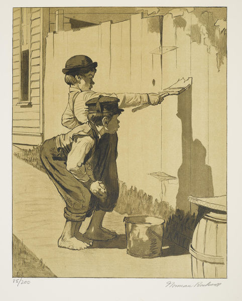 Norman Rockwell-Tom Sawyer Suite 8-1971