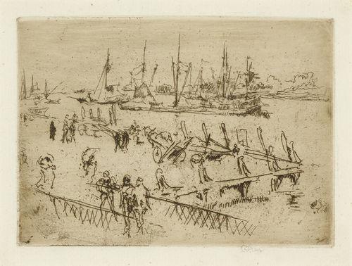 James Abbott McNeill Whistler-Little Dordrecht-1880