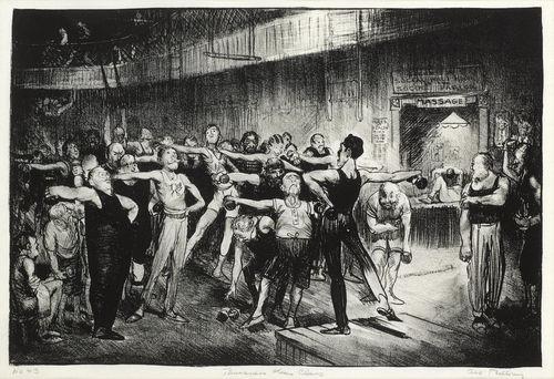 George Bellows-Business-Men's Class (Y.M.C.A.)-1916