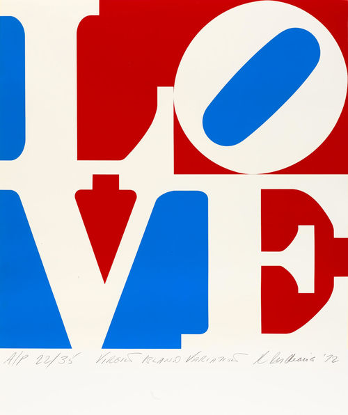 Robert Indiana-The American Love-1972