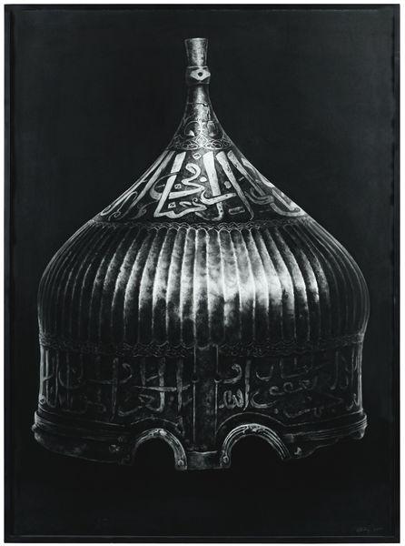 Robert Longo-Untitled (Helmet)-2013