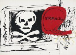Jean-Michel Basquiat-Andy Warhol-Untitled-1985