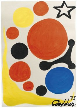 Alexander Calder-Sans Titre-1973