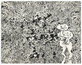 Jean Dubuffet-Personnage Dans Un Paysage-1960