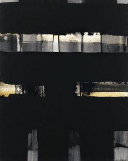 Pierre Soulages-Gouache 65 x 50 cm-1973