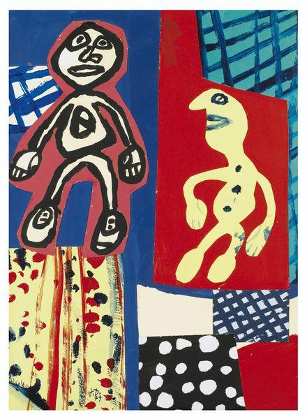 Jean Dubuffet-Sequence VIII-1979