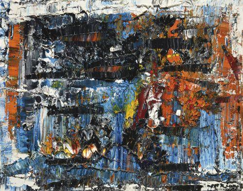 Jean-Paul Riopelle-Nouvelles Impressions No. 9-1978