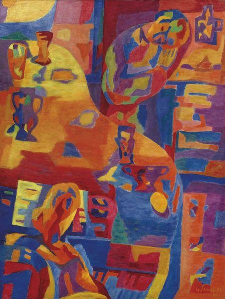 Gustave Singier-Femme Au Piano-1943