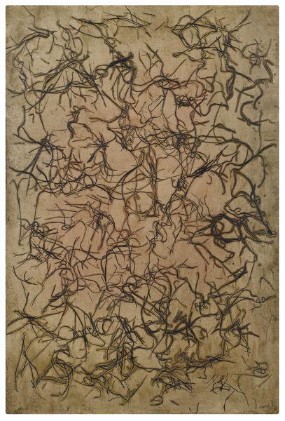Simon Hantai-Sans Titre-1953